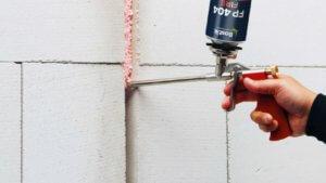 Mousse calfeutrement anti feu pour ERP